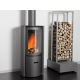 Compact wood-burning stove for tiny houses