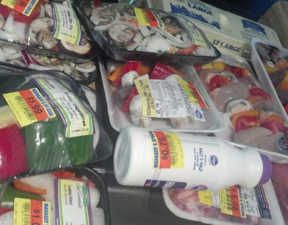 Manager's Specials to save money on groceries