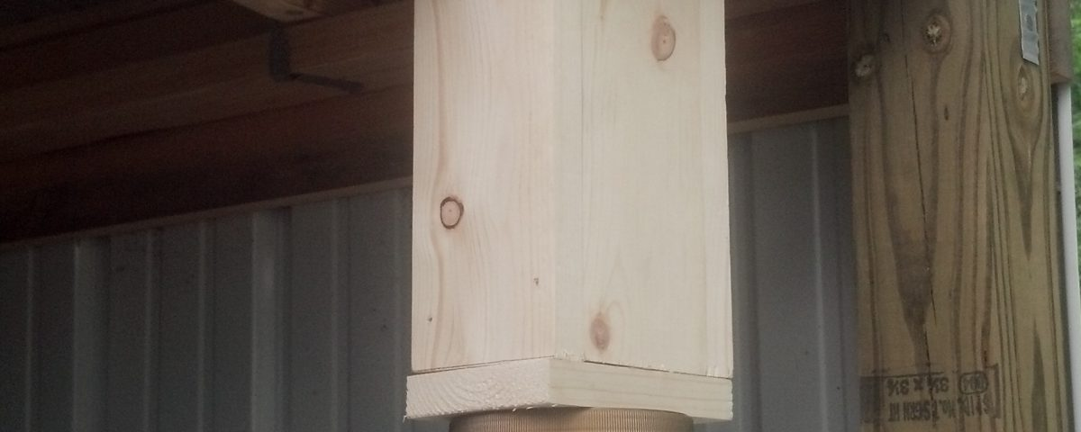 Carpenter Bee Trap DIY