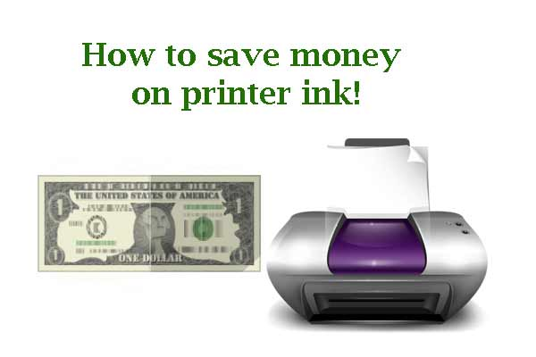 Think Before You Ink: How to Save Money on Printer Ink!