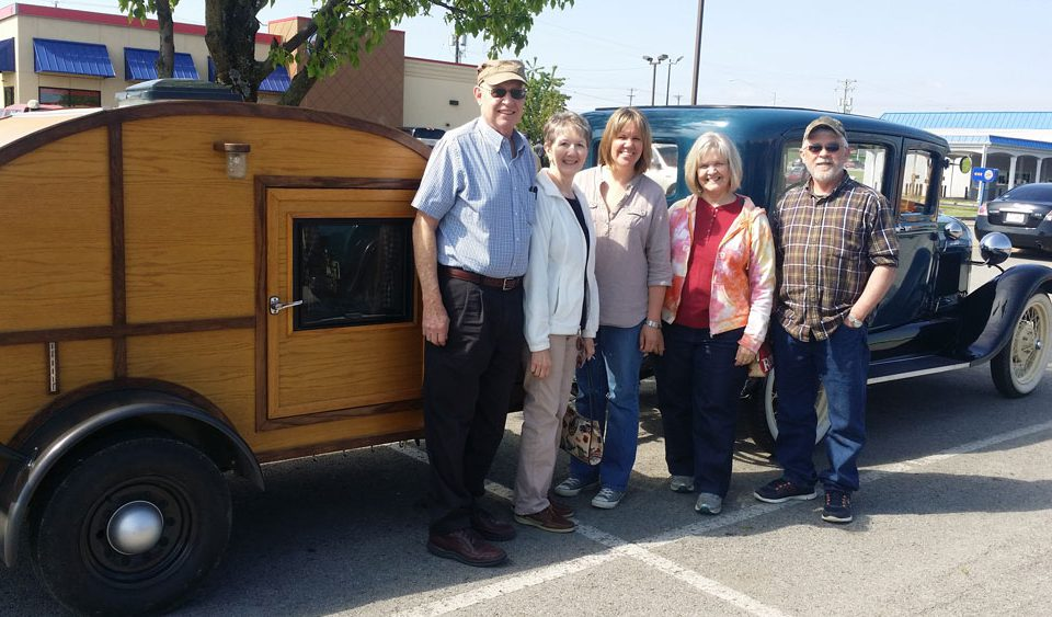Proud Owners of Kentucky Tiny House Teardrop Trailers
