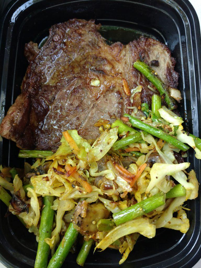 Food Prepared in the Van Kitchen: Van life dinner