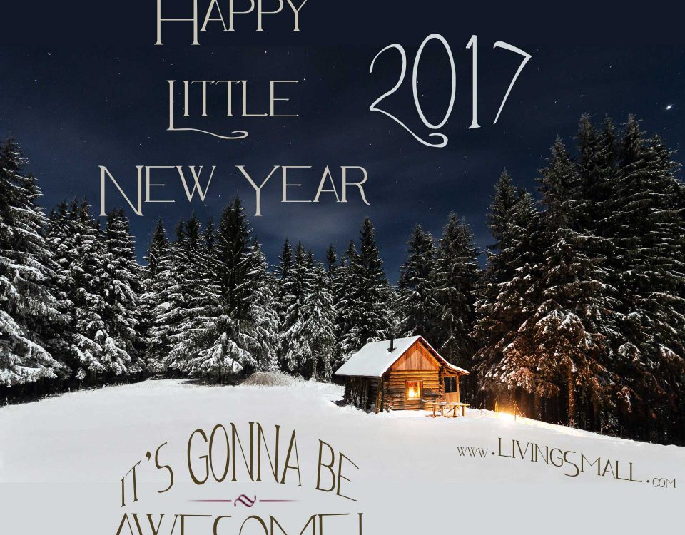 Happy New Year From LivingSmall.com in 2017