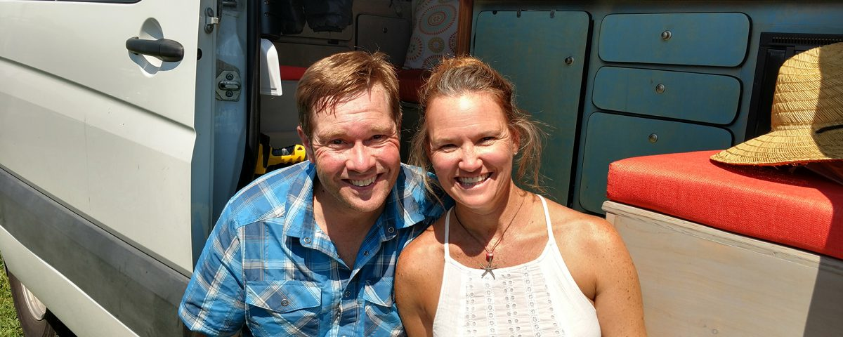 #Vanlife Darlene and Danny