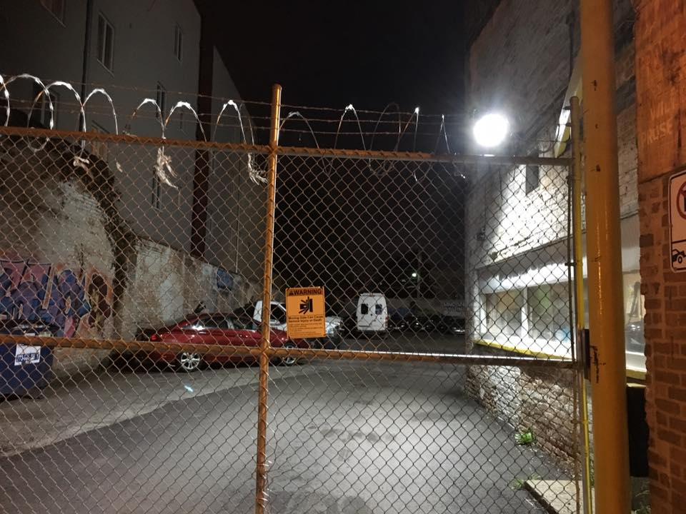 The Van is in Jail