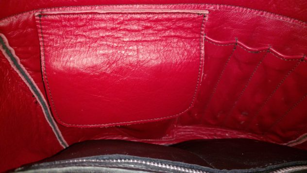 Holster Flap Hides Weapon