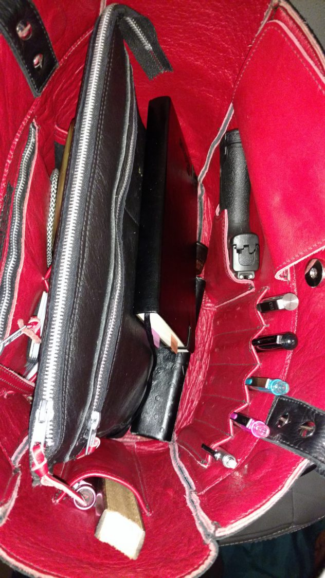 Perfect Leather Purse Fully Loaded