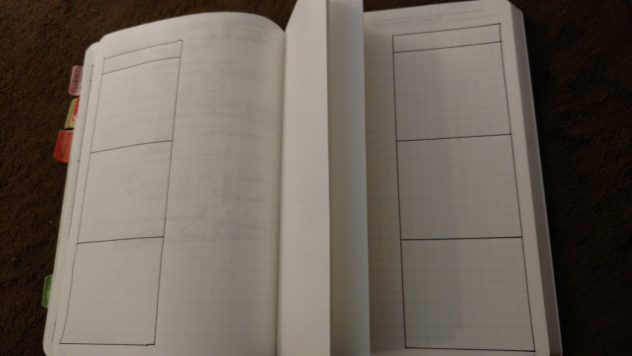 Bullet Journal Weekly Folding Dutch Door Layout-2