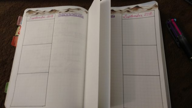 Bullet Journal Weekly Folding Dutch Door Layout-5
