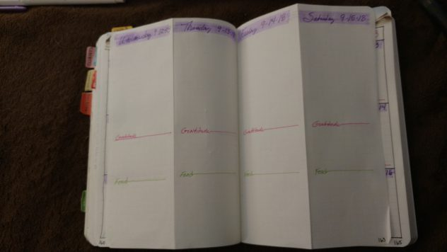 Bullet Journal Weekly Folding Dutch Door Layout-6